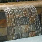 MagicFalls Water Arc Rain Super 13in. Lip 18in. White Bottom Feed