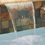 MagicFalls Water Arc Sheet Super 13in. Lip 18in. Copper