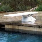 Inter-Fab - Edge 8' Diving Board, White EDGE8WW - 311607