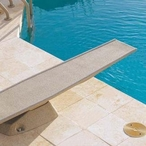 T7-N55-C 7' Complete Diving Board System, Pebble