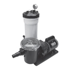 Waterway - TWM 50 sq. ft. Above Ground Cartridge Filter With 1HP Pump With Trap - 313293