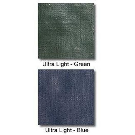 Arctic Armor  Ultralight Solid Safety Cover 20 x 40 Rectangle with Center End Step Green  20 yr Warranty