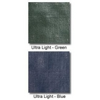 Ultralight Solid Safety Cover 20' x 44' Rectangle with Center End Step , Blue - 20 yr Warranty