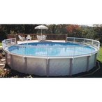 Above Ground Pool Resin Fence Kit (Base Kit) Required on all installations, includes 8 sections