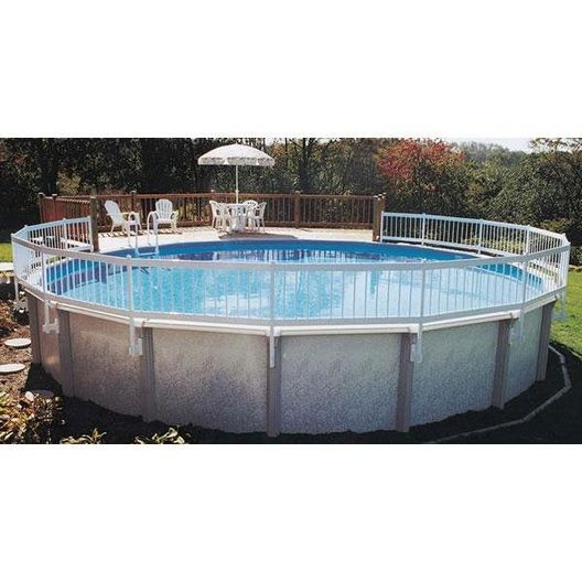 Splash  Above Ground Pool Resin Fence Kit (Base Kit Required on all installations includes 8 sections