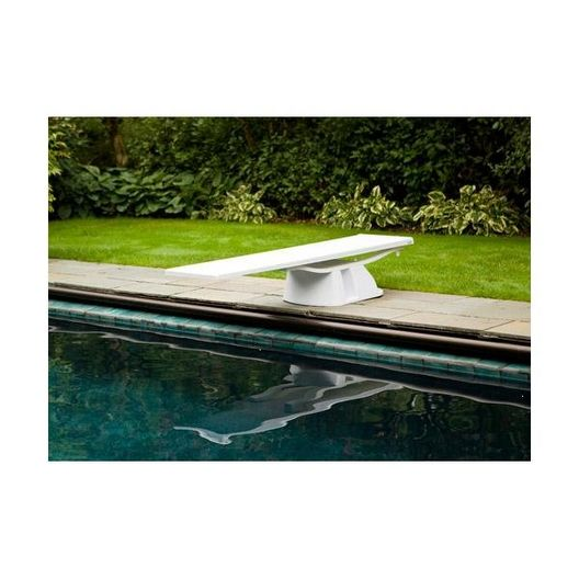 S.R. Smith - Complete Spring Assembly for 8' Salt Pool Jump System, Radiant White - 314451