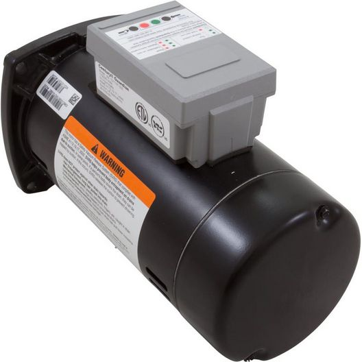 Guardian 48Y Square Flange 1 HP Single Speed SVRS Pool and Spa Motor, 14.8/7.4A 115/230V