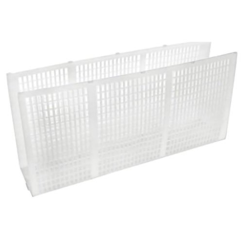 Aquabot - Pool Cleaner Filter Screen (White, Cage with Corner and Circle Cutouts), 1 per machine