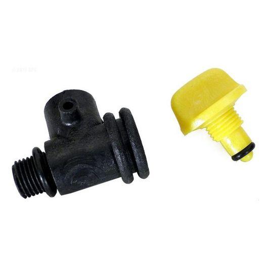 Carvin - Tee Air Bleed 1/4 - PVC - 314641