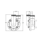 Uni-Might 1/8HP Spa Pump, 230V
