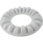 Molded Floor Canister Cover with Screws, White