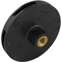 Impeller with Screw and Backup Plate O-Ring, 3/4 HP
