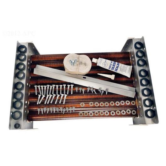 LXI 250, Tube Bundle with Hardware and Gaskets, Copper