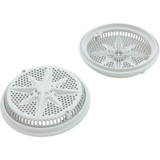 Pentair - 8in. Starguard with Short Ring (2 Pack) ANSI Ok, White - 315922