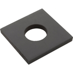 Gasket, Sq, Spacer, Vertical Mount (1in. Only)