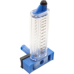 Flowmeter, 4in. PVC, Side Mount 125-500GPM/473-1893LPM