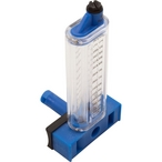Flowmeter, 6in. PVC, Side Mount 250-1050GPM/946-3975LPM