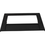 Front Plate, Black