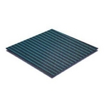 20' x 40' Rectangle Mesh Safety Cover with Center End Step, Green, 8-Year Warranty