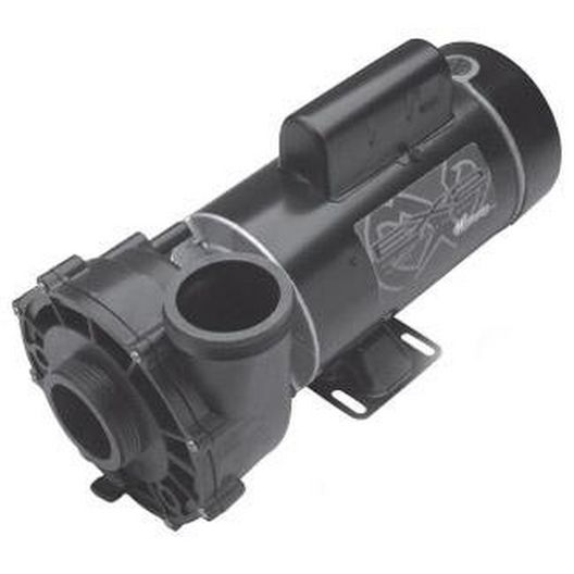 Waterway - EX 2 48-Frame 2HP Dual-Speed Spa Pump, 2in. Intake, 2in. Discharge, 230V - 317088