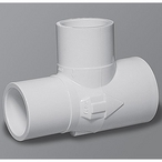 Gunite 1in. Slip x 1in. Spigot -3/4in. Slip Venturi Tee with #7 Nozzle