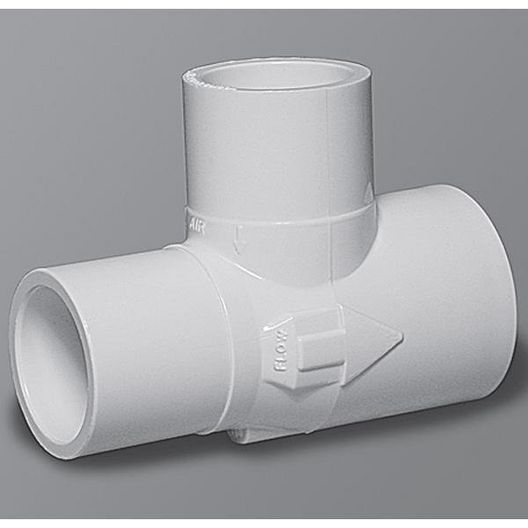 Waterway  Gunite 1in Slip x 1in Spigot -3/4in Slip Venturi Tee with #7 Nozzle