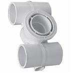 Waterway - Hydro Gunite 1-1/2in. Slip x 1-1/2in. Slip x 2in. FPT Spa Jet Body - 317678