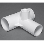Gunite Double Venturi Tee 1-1/2in. Spigot Body Assembly