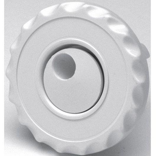 Waterway - Mini Gunite Whirly Scalloped Spa Jet Internal, White - 317711