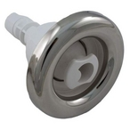 Poly Storm 3-3/8in. Stainless Steel Roto Spa Jet