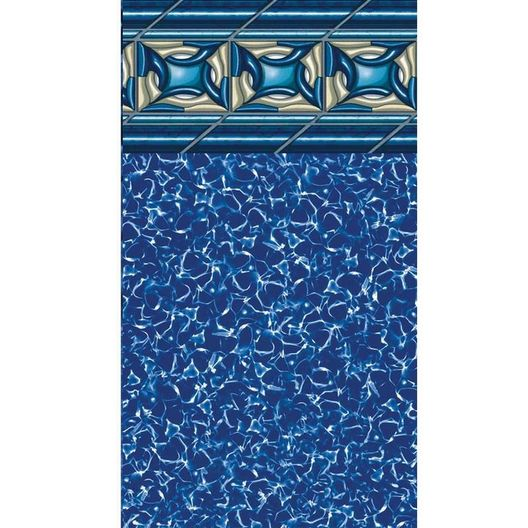 Beaded 15' x 30' Oval Pacific Diamond 48 in. Depth  Above Ground Pool Liner, 25 Mil