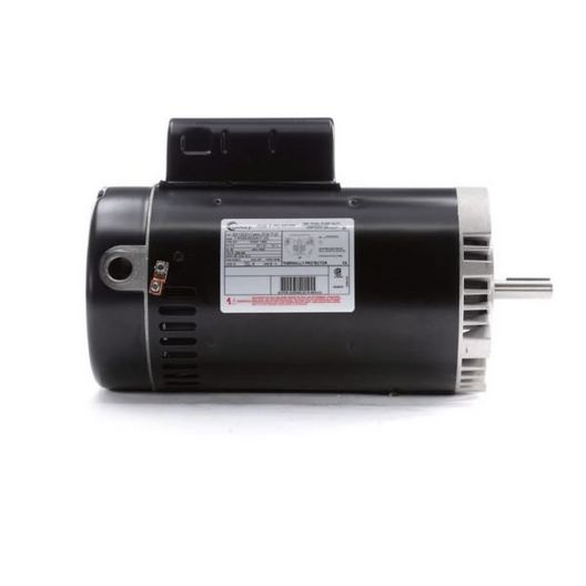 56C C-Face 3 HP Single Speed Full Rated Pool Filter Motor, 14.4A 230V