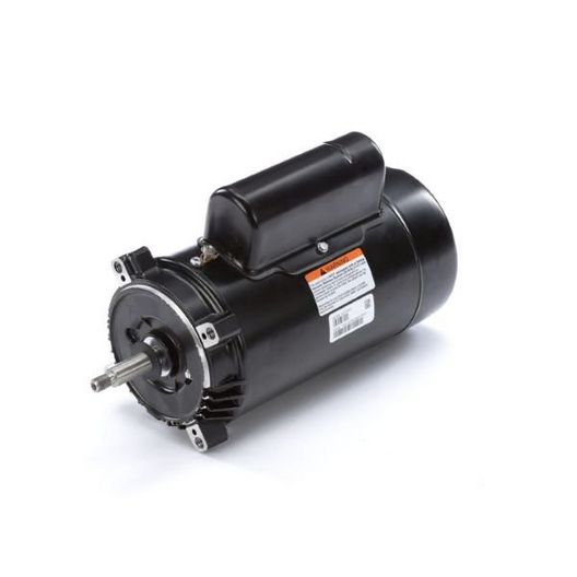 56J C-Face 3/4 HP Single Speed Up Rated Pool Filter Motor, 8.0/4.0A 115/230V