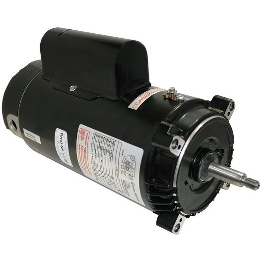 Century A.O. Smith - 56J C-Flange 1 or 1/6 HP Dual Speed Full Rated Pool Filter Motor, 8.5/2.5A 230V - 319193
