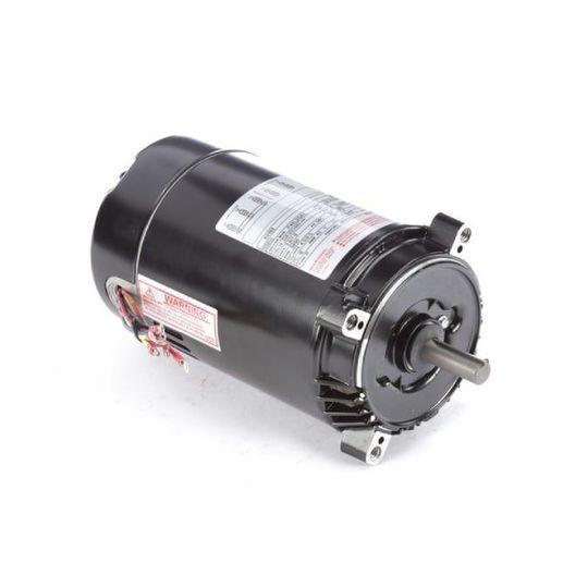56C C-Face 1 HP Three Phase Pool and Spa Pump Motor, 4.0/2.0A 208-230/460V