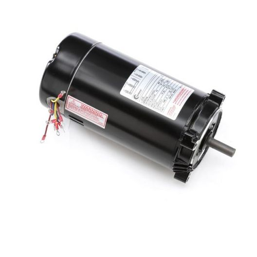 56C C-Face 1-1/2 HP Three Phase Pool and Spa Pump Motor, 6.8/3.4A 208-230/460V