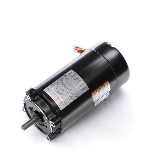 56C C-Face 2 HP Three Phase Pool and Spa Pump Motor, 8.6/4.3A 208-230/460V