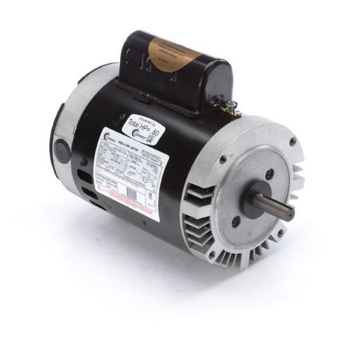 Century A.O. Smith - 56C C-Face 1/2 or 0.06 HP Dual Speed Full Rated Pool and Spa Pump Motor, 8.8/3.55A 115V