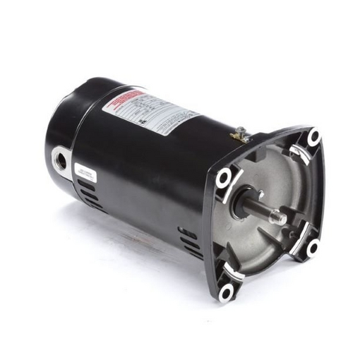Century A.O. Smith - 48Y Square Flange 1/3 HP Full Rated Pool Filter Motor, 9.9/5.0A 115/230V