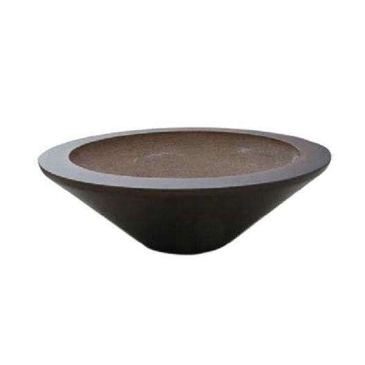 Automated Three Bowl 31in. Essex Concrete Fire Bowl System