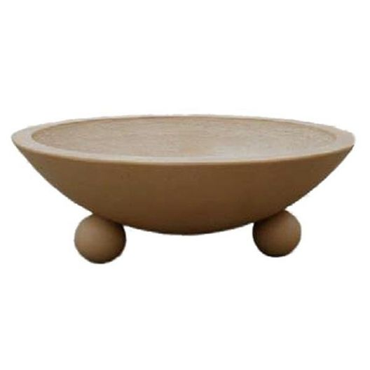 Automated Four Bowl 32in. Biltmore Concrete Fire Bowl System