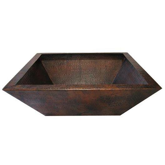 29in. Corinthian Copper Decorative Bowl