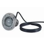 SpaBrite 120V, 60W, 200' Cord with Stainless Steel Face Ring Spa Light