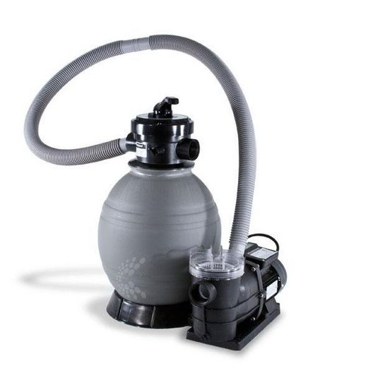 "QuickShip Deluxe 22"" Sand Filter with 1-1/2 HP Pump for Above Ground Pools"