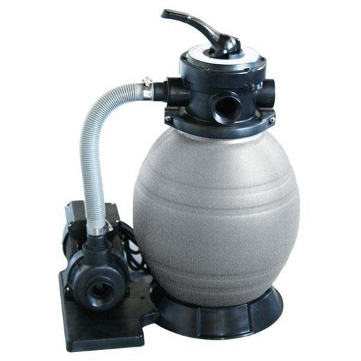 QuickShip Small 12in. Above Ground Pool Sand Filter System with 1/2 HP Pump