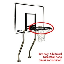 S.R. Smith - S-BASK-R Salt Rim, Vinyl Dipped for Pool Competition Grade Basketball