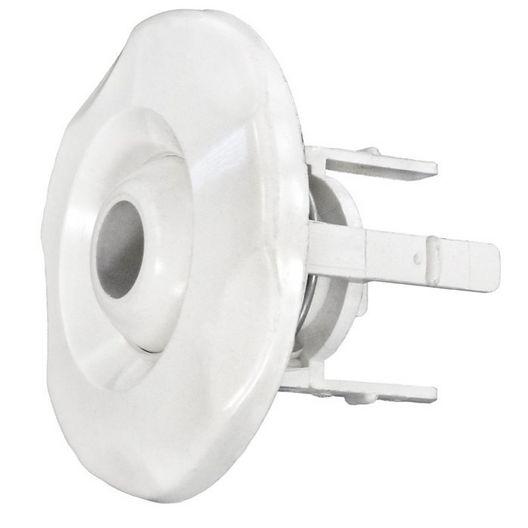 Mini Adjustable Directional Eyeball Assembly, White