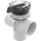2in. Top Access Diverter Valve (Gray)