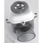 Waterway - Gate Valve 2-1/2in. S x 2-1/2in. SPG, White/Clear - 320027