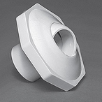 Waterway - Econ Insider 1in. Inlet Slip Rtn Fitting, White - 320060